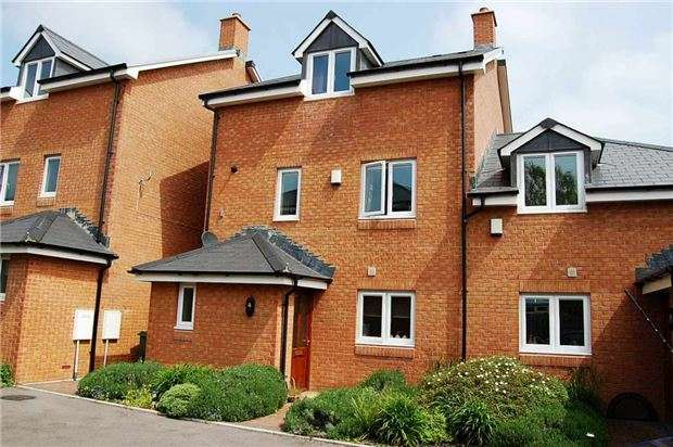 4 Bedrooms Semi Detached House for sale in Sandhurst Place, London Road, Charlton Kings, CHELTENHAM, Gloucestershire, GL52 6YN