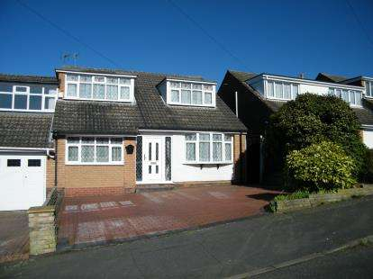 3 Bedrooms Semi Detached House for sale in Warren Road, Burntwood, Staffordshire