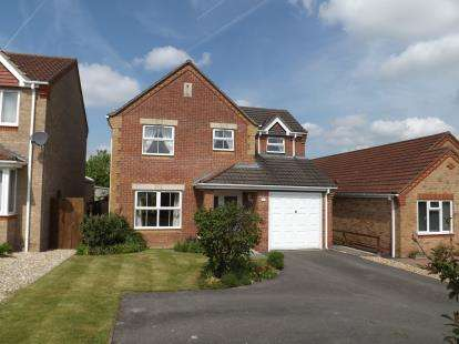 3 Bedrooms Detached House for sale in Wesley Way, Horncastle, Lincolnshire