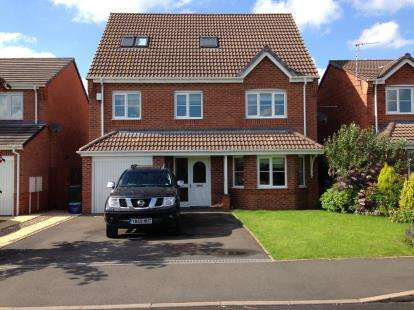 4 Bedrooms Detached House for sale in Gadwall Croft, Newcastle, Staffordshire