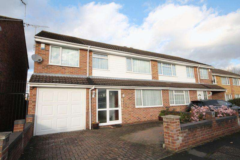 5 Bedrooms Semi Detached House for sale in MOORSIDE CRESCENT, SINFIN