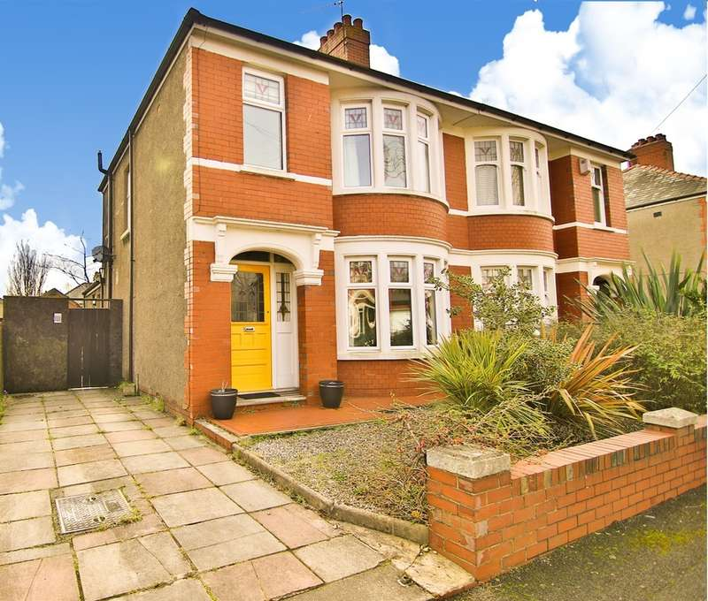 3 Bedrooms Semi Detached House for sale in Pum Erw Road, Heath, Cardiff