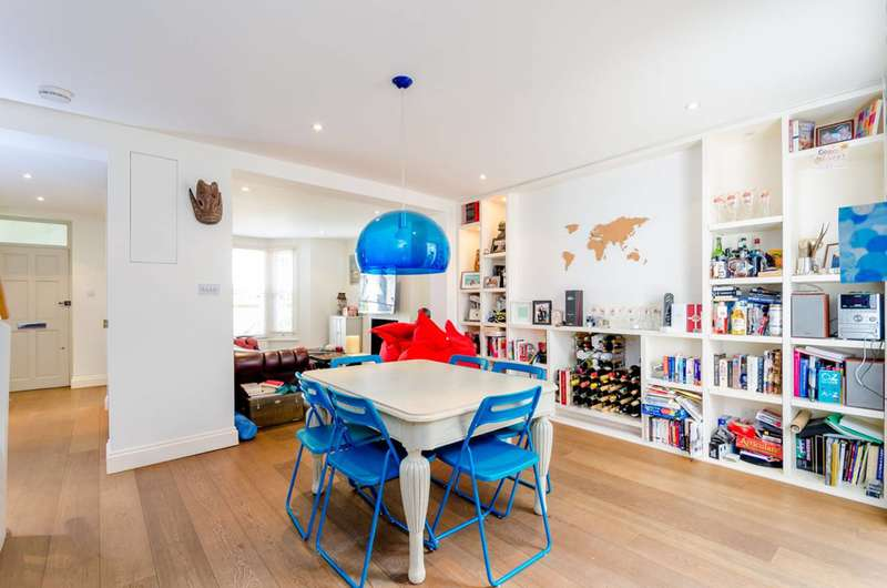 2 Bedrooms Maisonette Flat for sale in Barnsdale Road, Maida Hill, W9