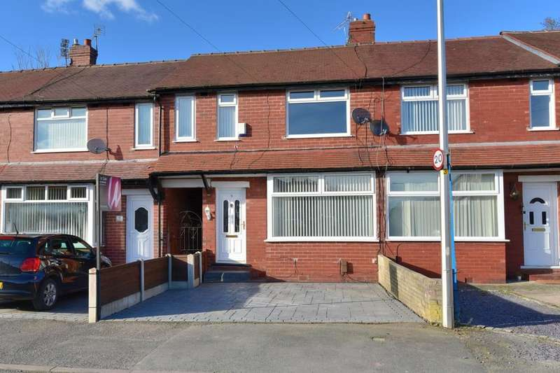 3 Bedrooms Terraced House for sale in Brownwood Avenue, Offerton, Stockport, SK1 4AY