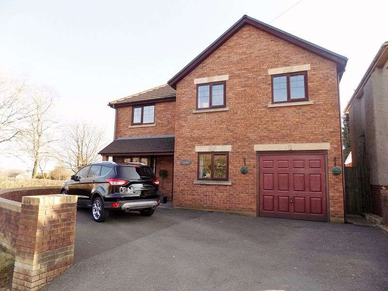 4 Bedrooms Detached House for sale in Ty Cornel Garfield Avenue, Litchard, Bridgend. CF31 1QA