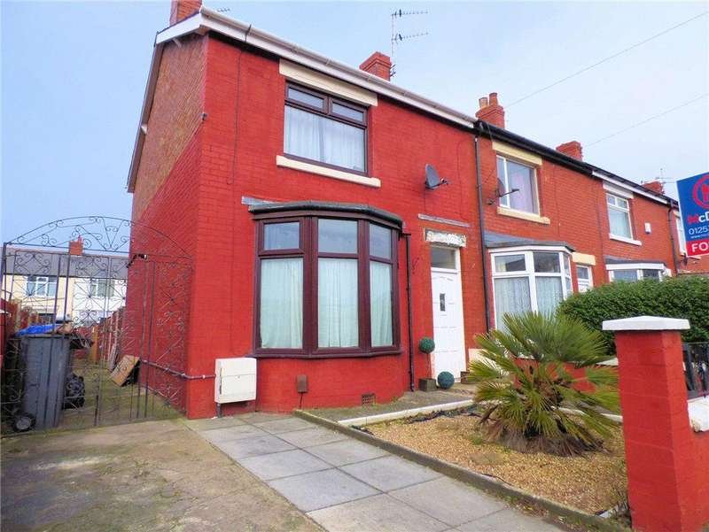3 Bedrooms End Of Terrace House for sale in Marsden Road, Blackpool, Lancashire