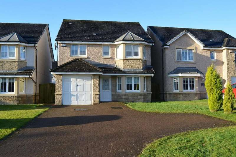 4 Bedrooms Detached House for sale in Foundry Loan, Larbert, Falkirk, FK5 4AW