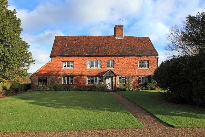 6 Bedrooms Detached House for sale in Moor Lane, Marsh Green, Edenbridge, Kent, TN8