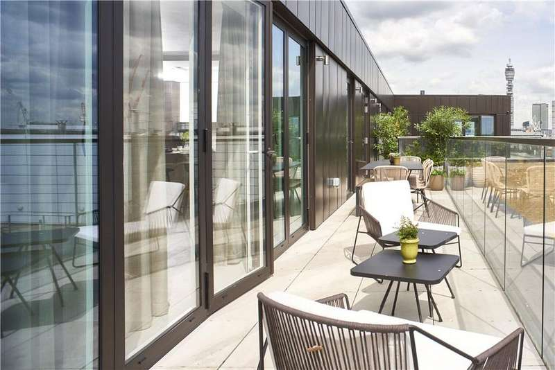 3 Bedrooms Penthouse Flat for sale in Soho Thirteen Apartments, 20 Ingestre Place, Soho, London, W1F