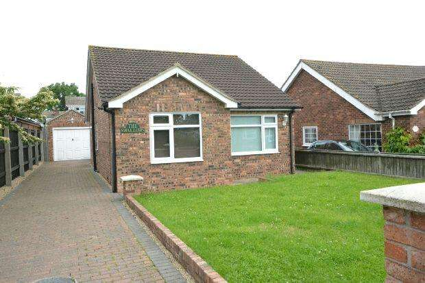 2 Bedrooms Detached Bungalow for sale in Church Lane, North Killingholme, IMMINGHAM