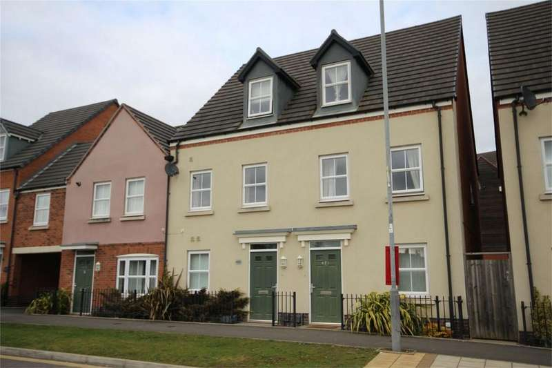 4 Bedrooms End Of Terrace House for sale in Queen Elizabeth Road, NUNEATON, Warwickshire