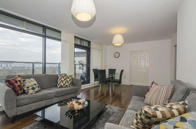 2 Bedrooms Flat for sale in Cardon Square, Renfrew, Renfrewshire, PA4
