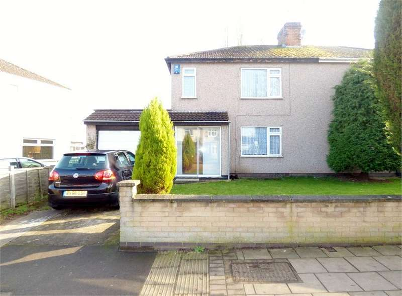 3 Bedrooms Semi Detached House for sale in Clifford Bridge Road, Binley, Coventry, West Midlands