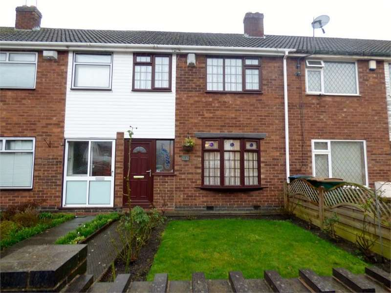 3 Bedrooms Terraced House for sale in Yewdale Crescent, Potters Green, Coventry