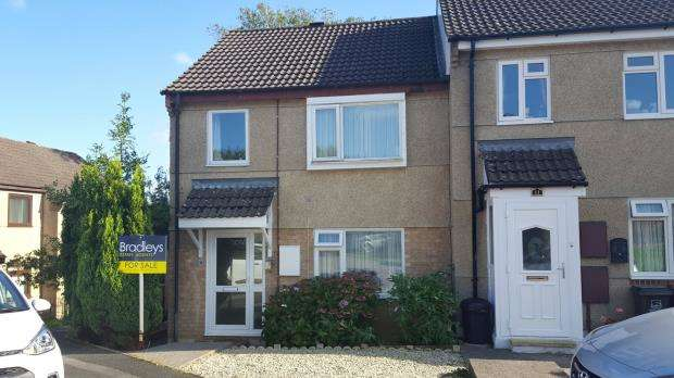 3 Bedrooms End Of Terrace House for sale in Churchlands Close, Plymouth, Devon
