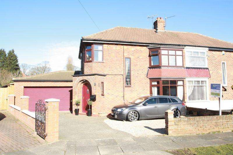 3 Bedrooms Semi Detached House for sale in Harlsey Crescent, Hartburn, Stockton, TS18 5DE