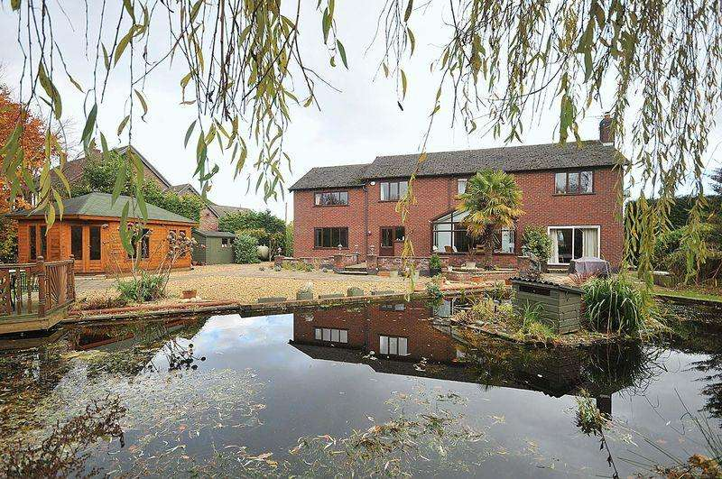 5 Bedrooms Detached House for sale in Twemlow Green, Nr Goostrey