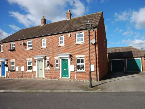3 Bedrooms End Of Terrace House for sale in Coombe Lane, Aylesbury, Buckinghamshire