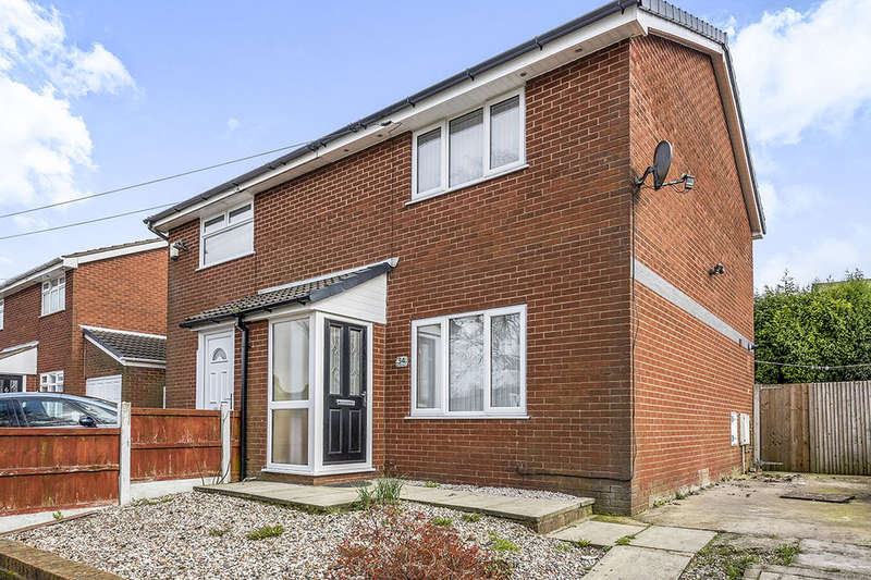 2 Bedrooms Semi Detached House for sale in Back Lane, Holland Moor, Skelmersdale, WN8