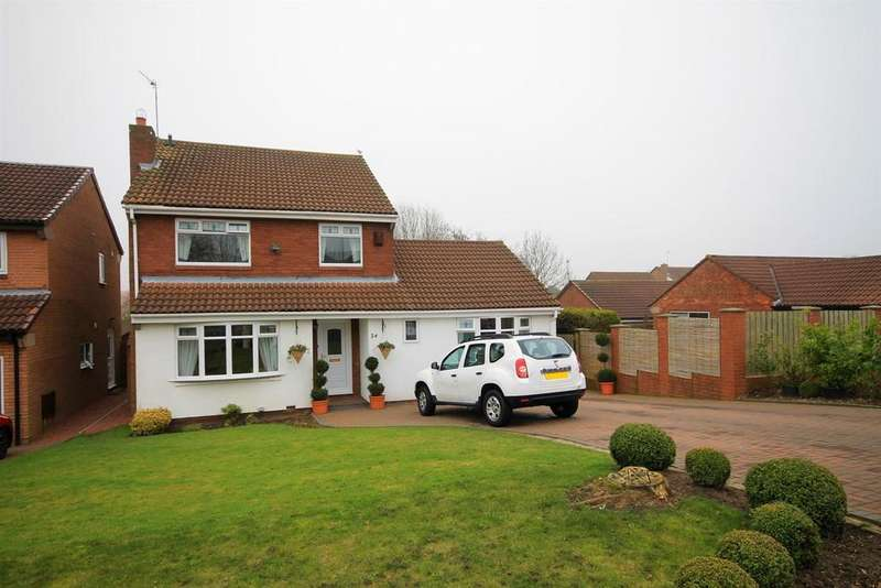 5 Bedrooms Detached House for sale in Bishops Way, Pity Me