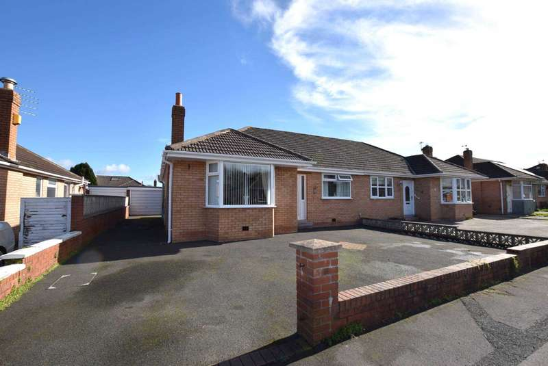 3 Bedrooms Semi Detached Bungalow for sale in Gillow Road, Kirkham