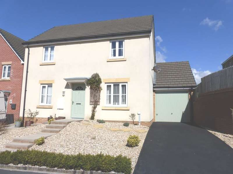 3 Bedrooms Detached House for sale in Willow Close, North Cornelly, Bridgend