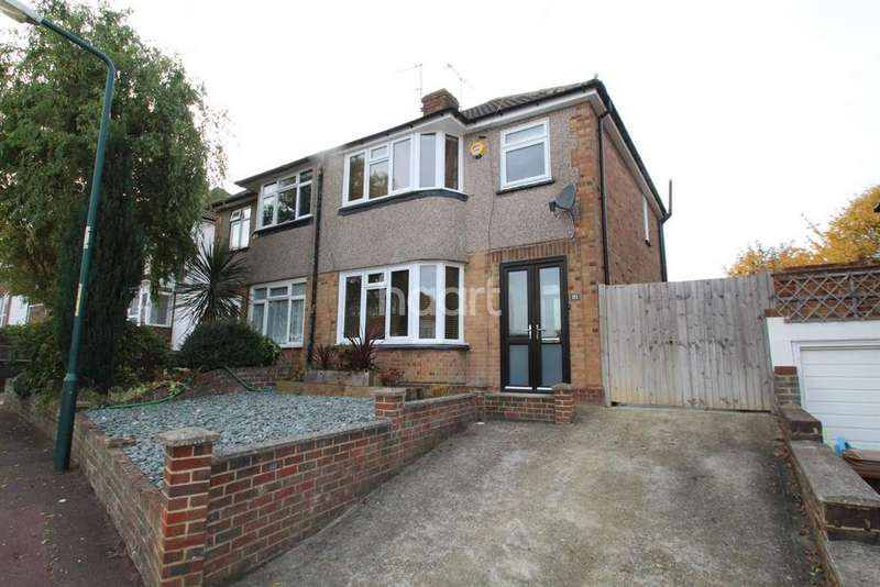 3 Bedrooms Semi Detached House for sale in Allington Drive, Strood