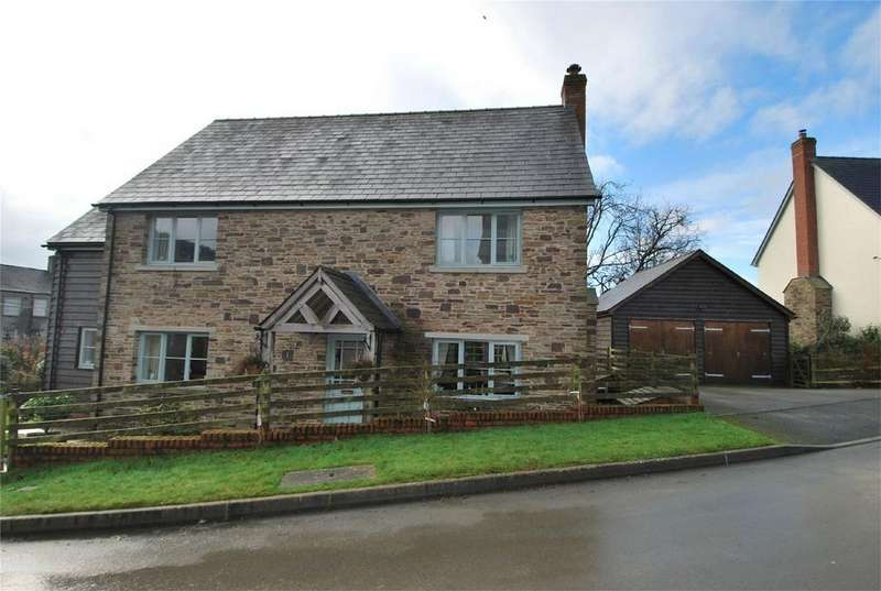 3 Bedrooms Detached House for sale in 1 Horseyard Lane, Evenjobb, Presteigne