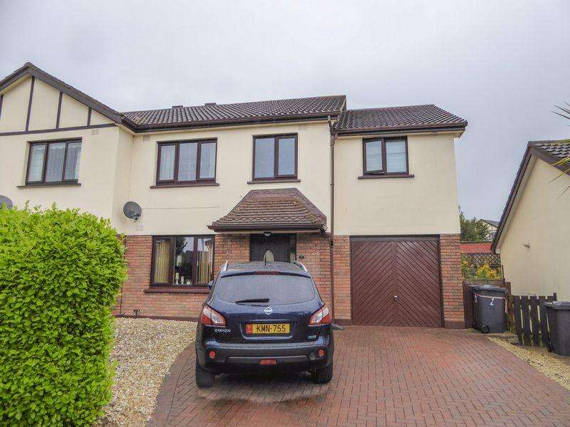 4 Bedrooms Semi Detached House for sale in 2 Crovens Close, Douglas IM2 7AQ