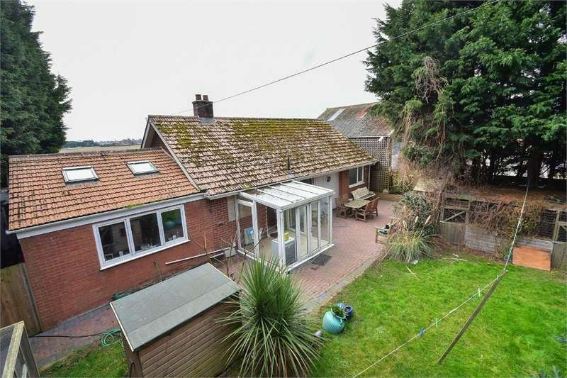 3 Bedrooms Detached Bungalow for sale in Willows Lane, Sibsey, Boston, Lincolnshire