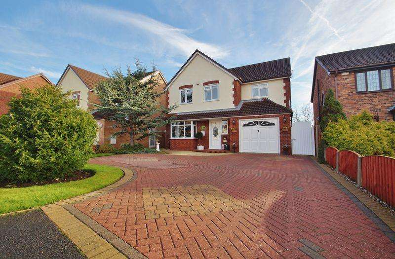 4 Bedrooms Detached House for sale in Abrams Green, Banks