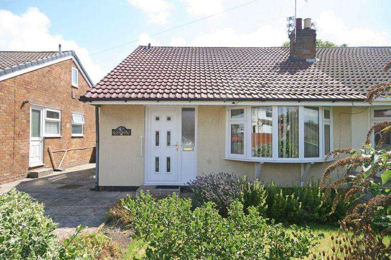 2 Bedrooms Semi Detached Bungalow for sale in Rossendale Avenue South, Thornton-Cleveleys