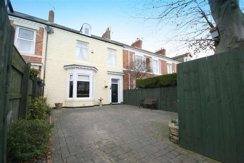 4 Bedrooms Terraced House for sale in Marine Terrace, Blyth, Northumberland, NE24