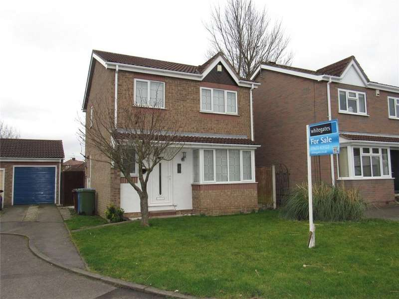 3 Bedrooms Detached House for sale in Ley Croft, Mansfield Woodhouse, Nottinghamshire, NG19