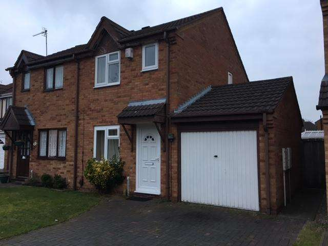 2 Bedrooms Semi Detached House for sale in Austin Close, Acocks Green, Birmingham B27