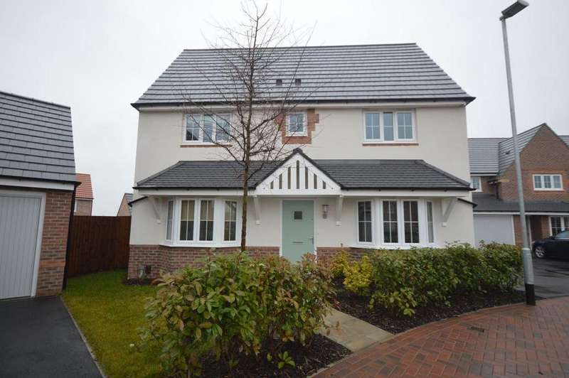 4 Bedrooms Detached House for rent in Meadow Crescent, Hollygate Park, Cotgrave