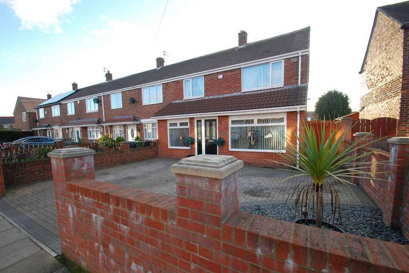 3 Bedrooms Terraced House for sale in Belloc Avenue, South Shields