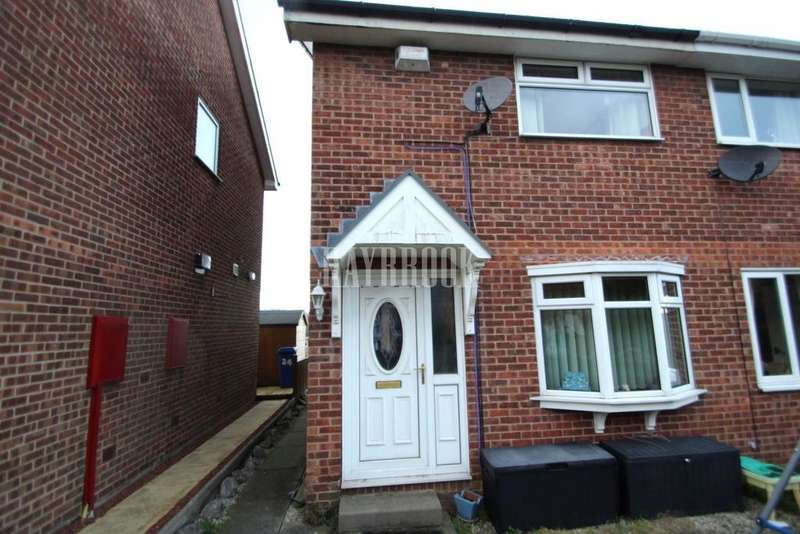 2 Bedrooms Semi Detached House for sale in Blackburn Crescent, Sheffield