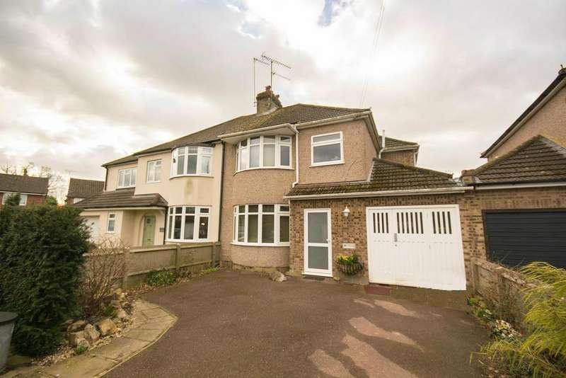 3 Bedrooms Semi Detached House for sale in Oliver Road, Shenfield, Brentwood, Essex, CM15