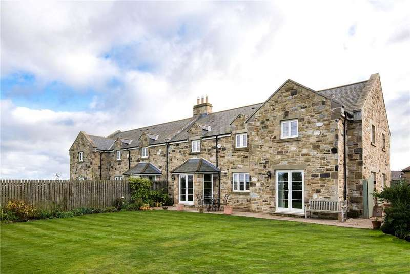 4 Bedrooms Semi Detached House for sale in Rock Home Farm, Rock, Alnwick, Northumberland, NE66