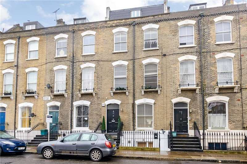 4 Bedrooms Maisonette Flat for sale in Arundel Square, London, N7
