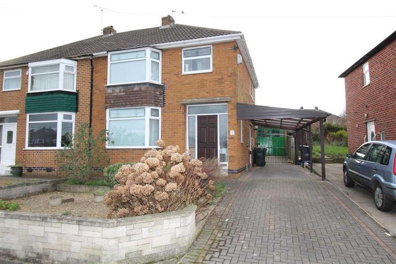 3 Bedrooms Semi Detached House for sale in Bank Top Road, Rotherham