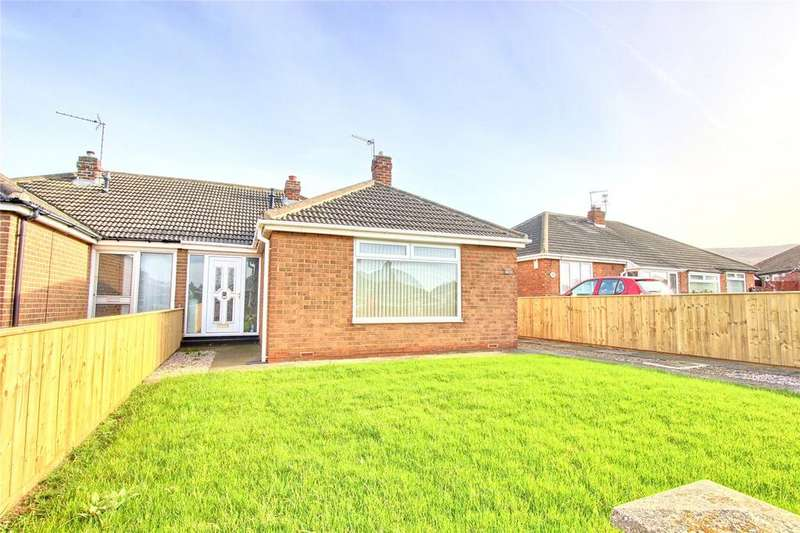 2 Bedrooms Semi Detached Bungalow for sale in Whitby Avenue, Eston