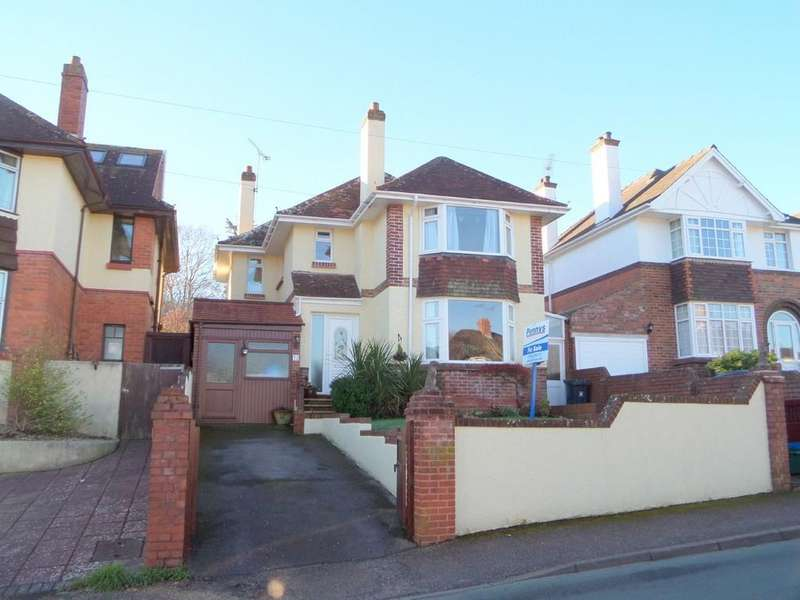 4 Bedrooms Detached House for sale in Lovelace Crescent, Exmouth