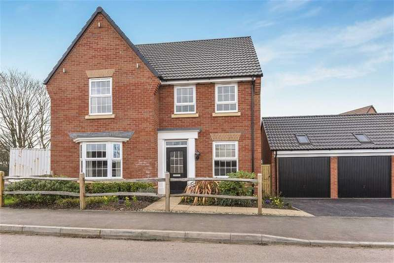 4 Bedrooms Detached House for sale in West View, West View Gardens, Taunton, Somerset, TA3