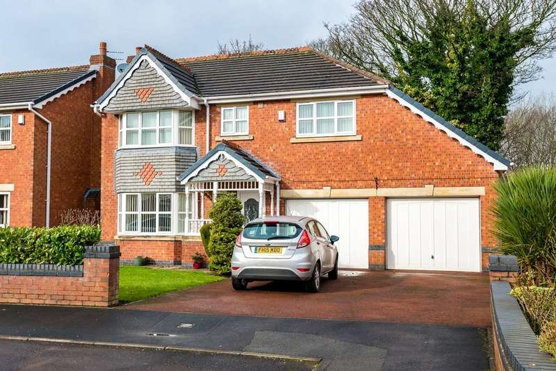 4 Bedrooms Detached House for sale in Springpool, St. Helens