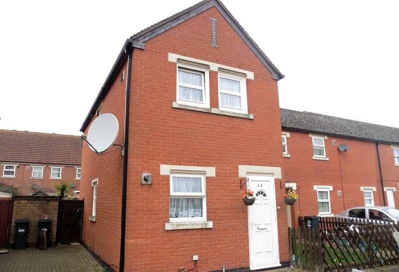2 Bedrooms End Of Terrace House for sale in Elsworth Close, Bedfont, TW14