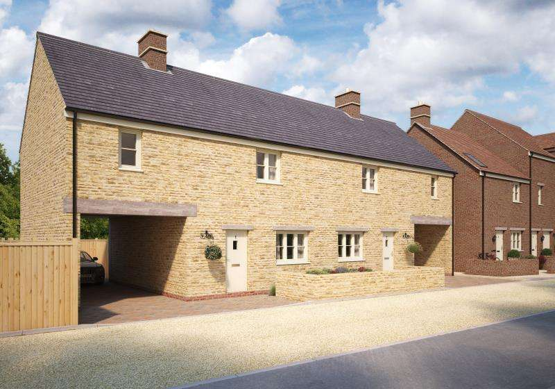 3 Bedrooms Terraced House for sale in Plot 15 The Old Printworks, Longwall, Brackley, Northamptonshire