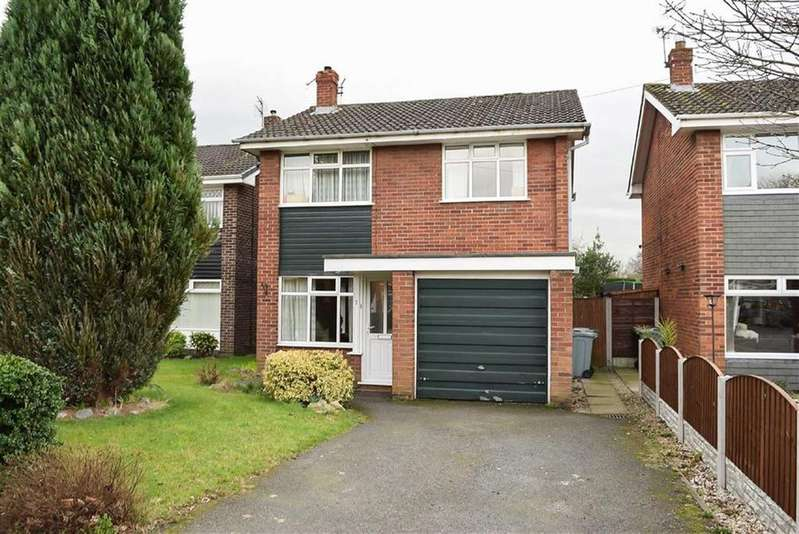 3 Bedrooms Detached House for sale in Rushton Drive