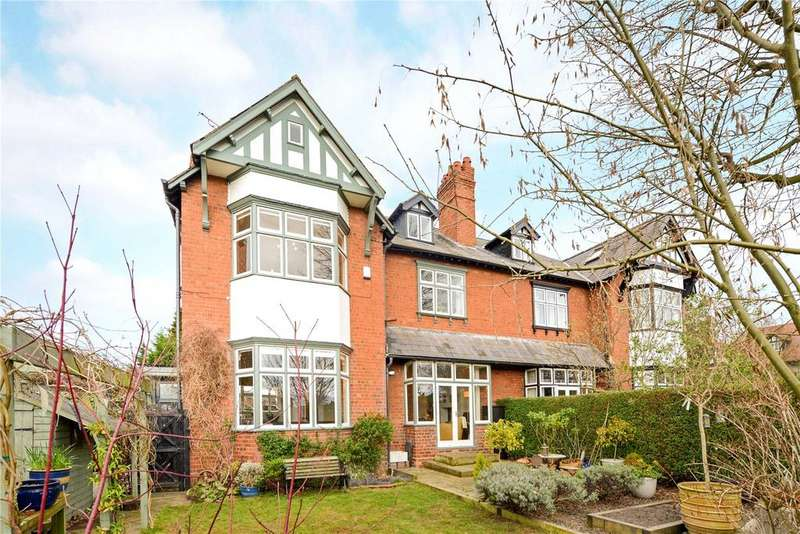 6 Bedrooms Semi Detached House for sale in St. Johns Road, Queens Park, Chester, CH4